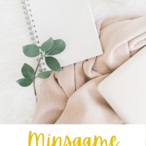 minsgame defi désencombrement minimalisme