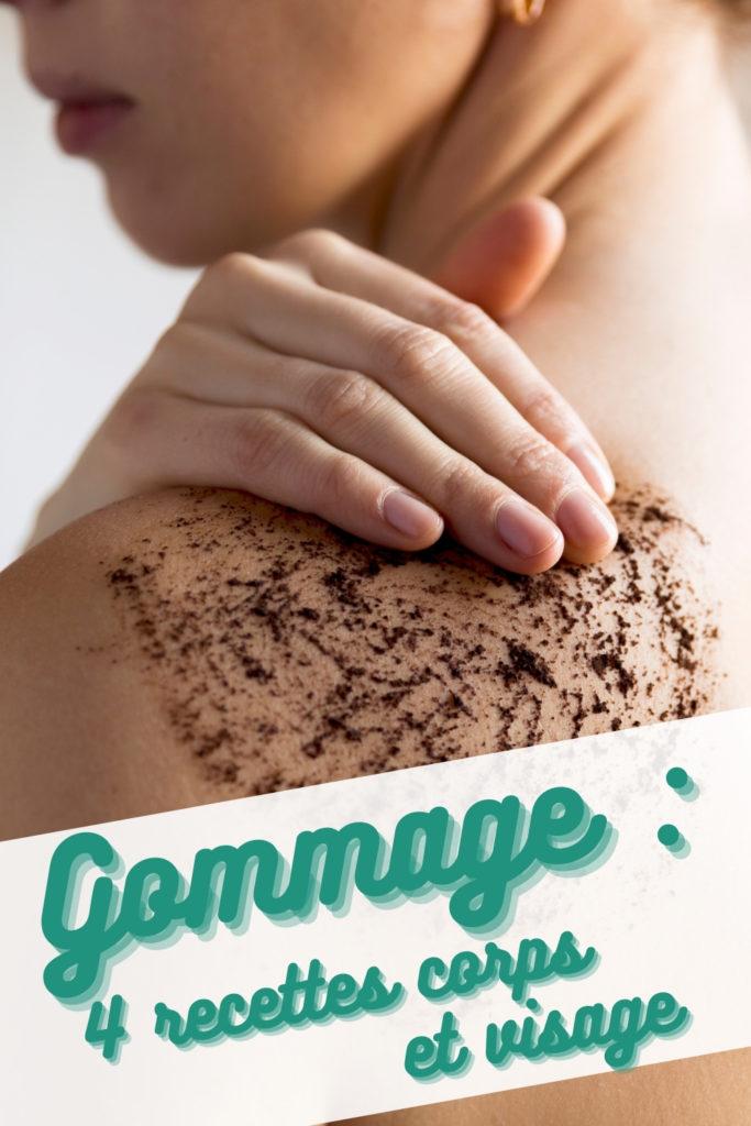 gommage corps et cheveux