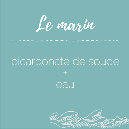 gommage bicarbonate