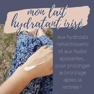 lait hydratant recette