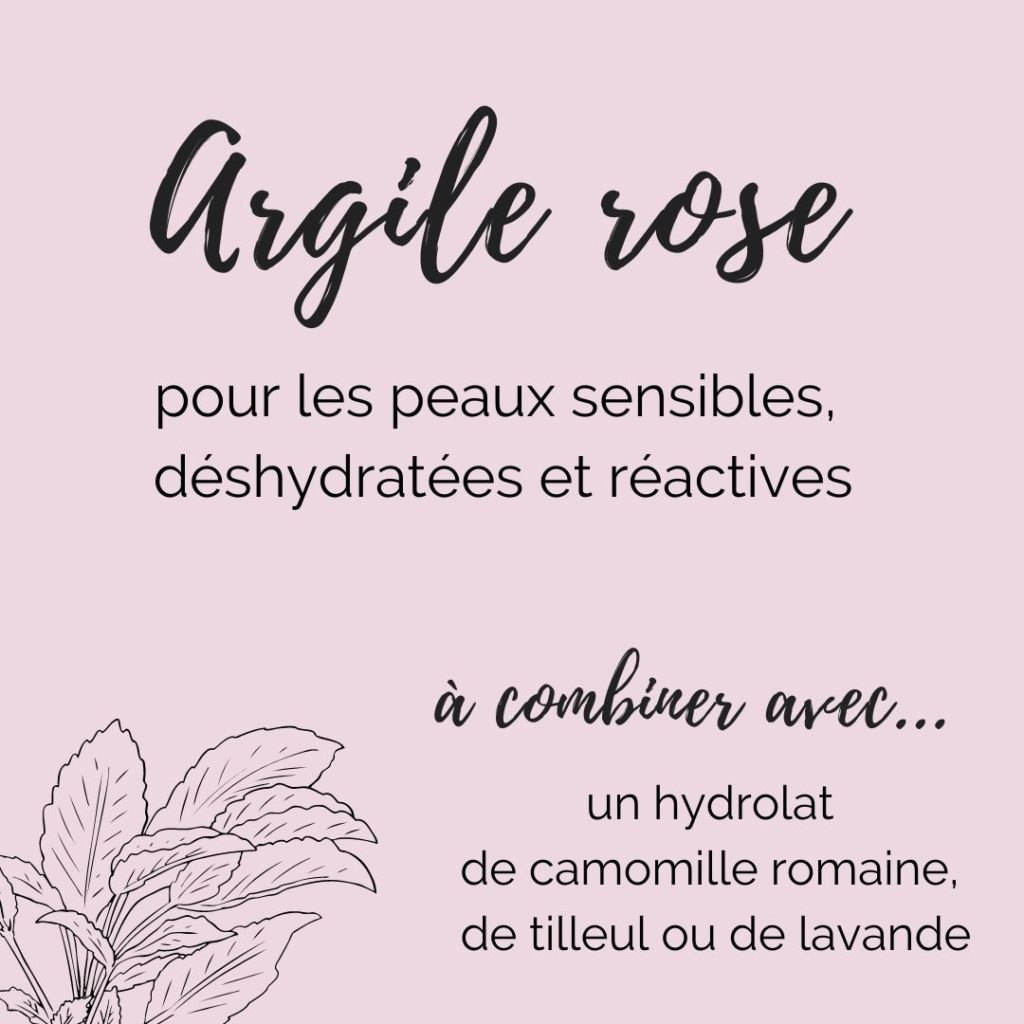 masque argile rose do it yourself