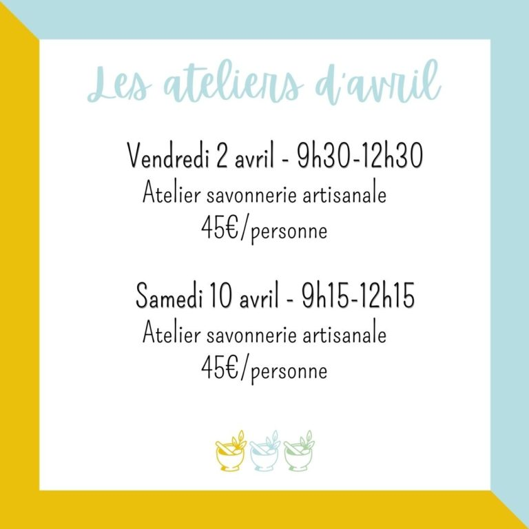 ateliers angers avril 2021