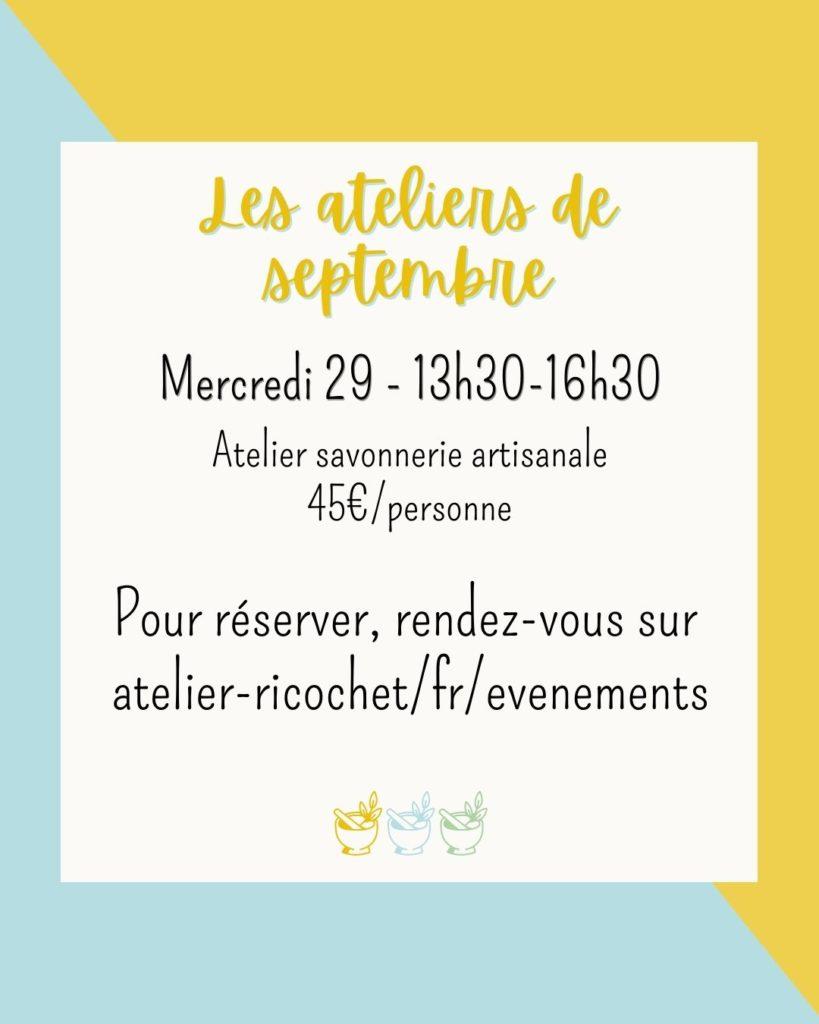 Atelier Septembre 2021 Angers