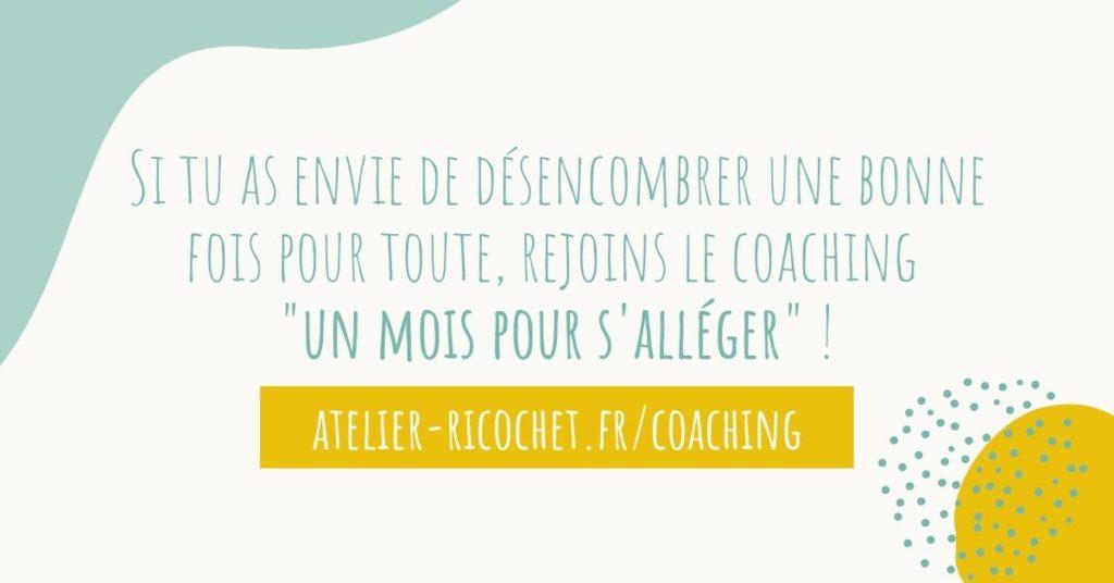 coaching désencombrement